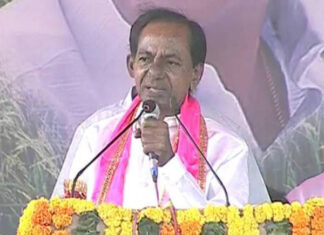 TRS Party Chief KCR Satirical Comments On Chandrababu Naidu In Jadcherla Meeting