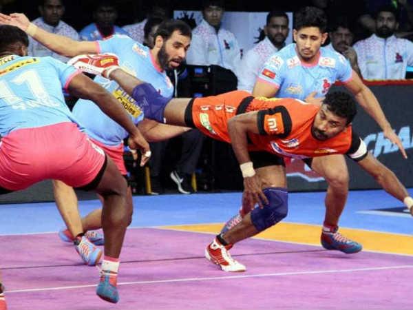 bengaluru bulls beat jaipur pink panthers in pro kabaddi league