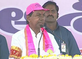 trs chief kcr appeals to give 17 mp seats in telangana
