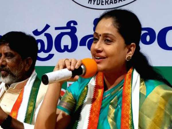 star campaigner vijayashanti