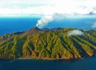 andaman nicobar volcano