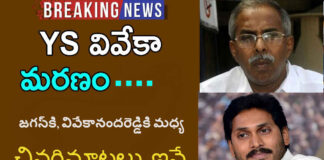 Viveka disagree with the YCP Ends between Jagan and Vivekananda Reddy, Newsxpressonline