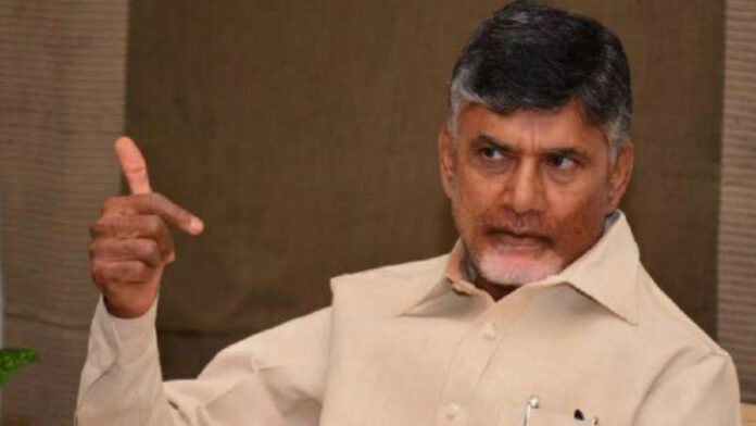 chandrababu fires on ys jagan and police over atchannaidu arrest issue