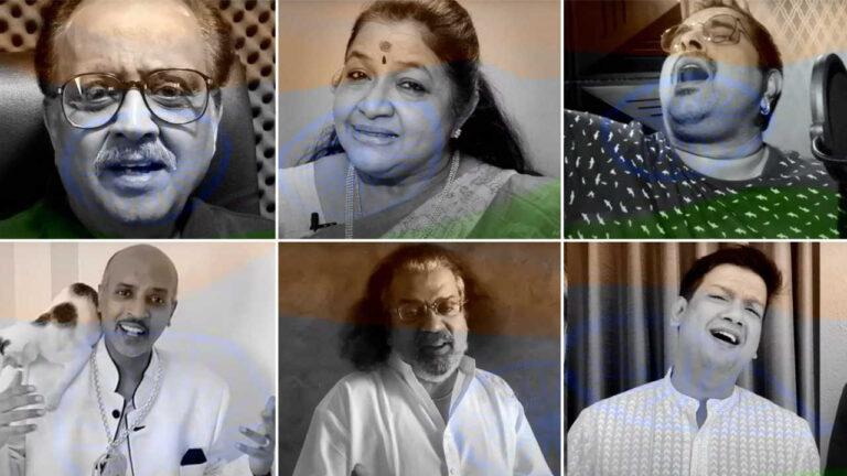 వాట్ ఎ గ్రేట్ సాంగ్: 65 మంది సింగర్లు.. 5 భాషలు.. ఒక పాట! రిలీజ్ బై మెగా పవర్స్టార్…